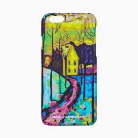 "Iphone 7 case ""Winter landscape"""