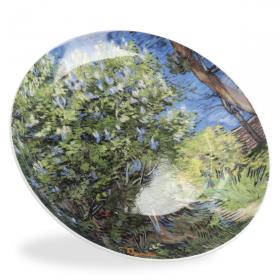 """Lilac Bush"" Decorative Plate"