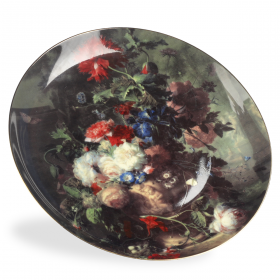 """Flowers"" by Huysum Decorative Plate"