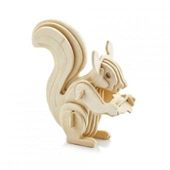 "Wooden 3D puzzle ""Squirrel"""