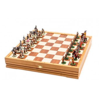 "Chess set ""Battle of the Ice"""