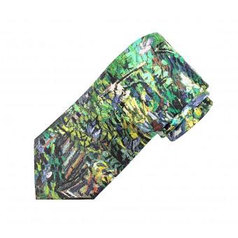 """Tie """"Lilac Bush"""""""