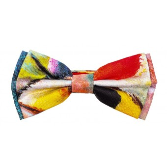 "Bow tie ""Kandinsky. Landscape"""