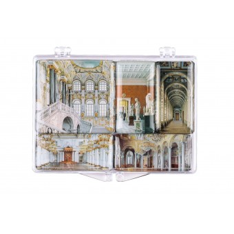 """The Hermitage Interiors. Graphics"" Set of Mini-Magnets"