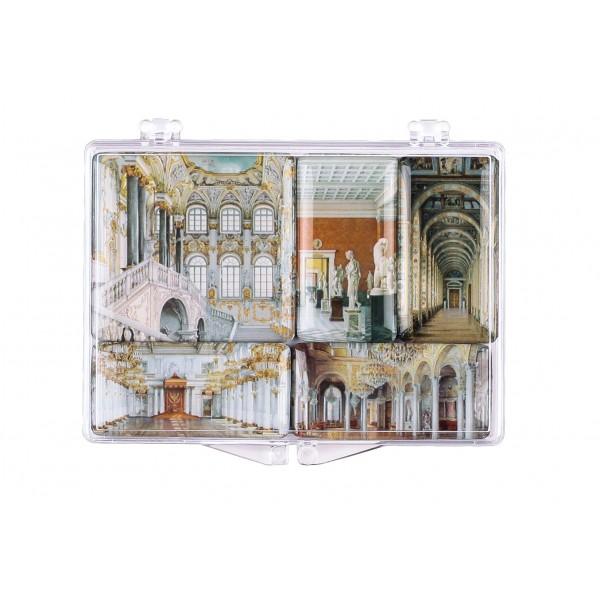 """The Hermitage Interiors. Graphics"" Set Of Mini-Magnets"