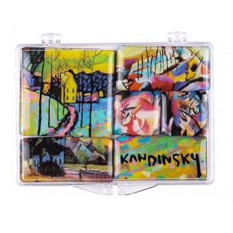 """Kandinsky"" Set of Mini-Magnets"