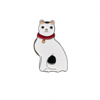 "Badge ""Japanese Cat"""