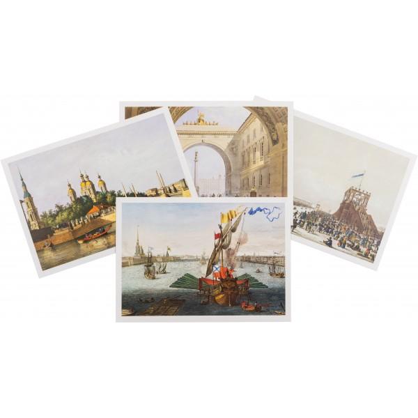"""Saint-Petersburg In Watercolors"" Set Of Post Cards"