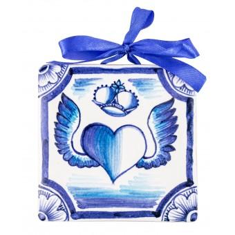 """Ceramic Plaques """"Heart"""""""
