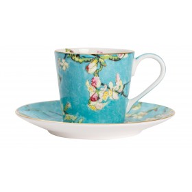 "Coffee Set ""Van Gogh. Almond Blossoms"""