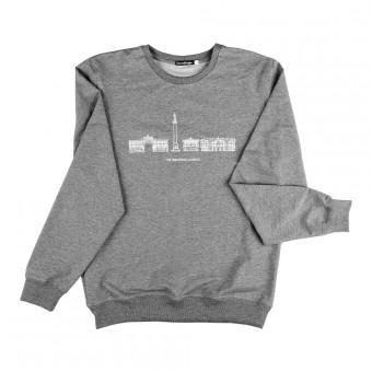 "Sweatshirt ""The Hermitage Museum"" grey"