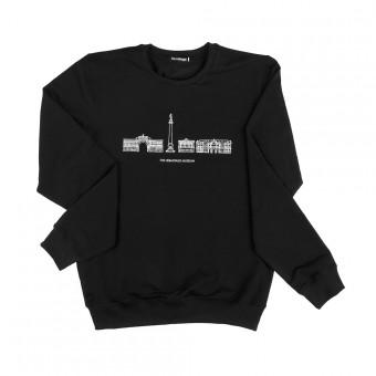 "Sweatshirt ""The Hermitage Museum"" black"