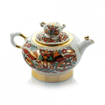 """Small Teapot """"Red Rooster"""""""