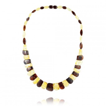 """Nefertiti"" Amber Necklace"