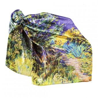"Big Kerchief ""Lilac Bush"""