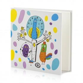 "Notepad ""Peacock Clock. Colorful Dreams"""