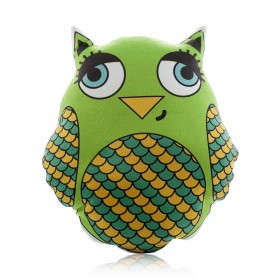 """Pillow-toy """"Peacock Clock. Favorite Toy. Owl'"""