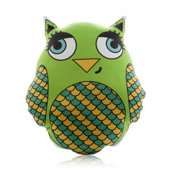 "Pillow-toy ""Peacock Clock. Favorite Toy. Owl'"