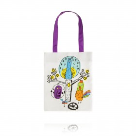 "Bag ""Peacock clock. Colorful Dreams"""