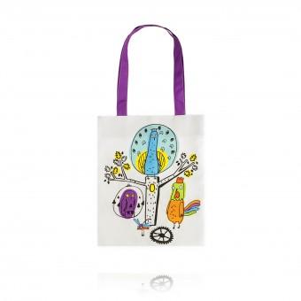 """Bag """"Peacock clock. Colorful Dreams"""""""