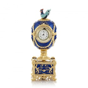 """Easter Egg with a Clock """"Chanticleer"""""""