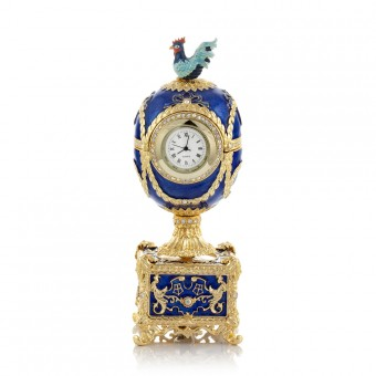 "Easter Egg with a Clock ""Chanticleer"""