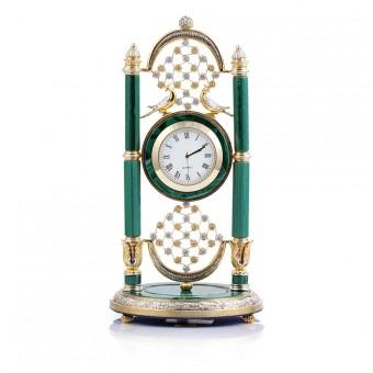"""Table Clock """"Hanging Gardens of Semiramis"""""""
