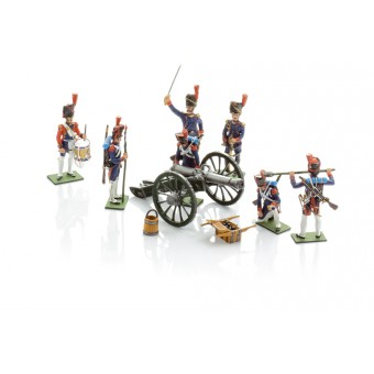 French soldiers set
