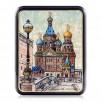 "Lacquer box ""Saint-Petersburg"" Fedoskin"