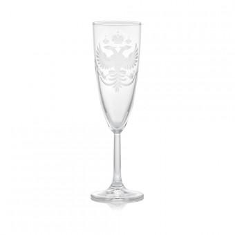 """Eagle"" Champagne Glass"