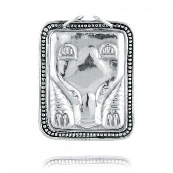 """Bear"" Silver pendant"
