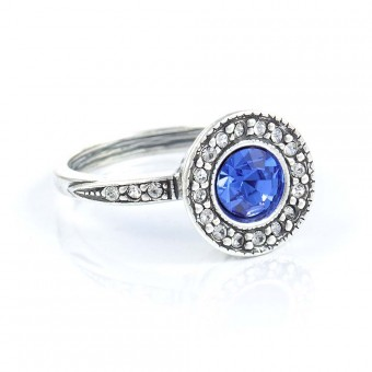 """Ice"" Ring (Blue)"