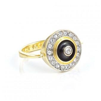 """""""Night"""" Ring (gold)"""