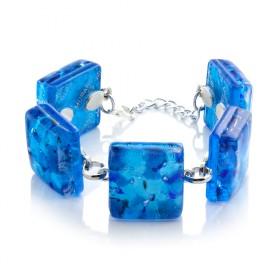 """Seurat"" Murano glass bracelet"