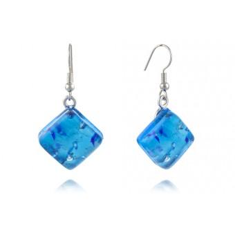 """Seurat"" Murano glass earrings"