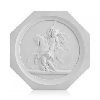 "Medallion ""Battle of La Fere Chapenoise, 1814"". By Fedor Tolstoy"