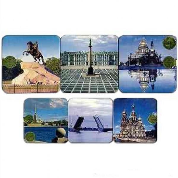 St Petersburg Drink Coaster Set