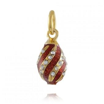 """Color Spiral"" Brass pendant"