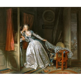 Stolen Kiss. Jean-Honore Fragonard