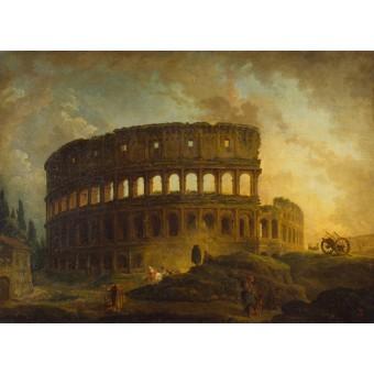 The Colosseum. By Hubert Robert