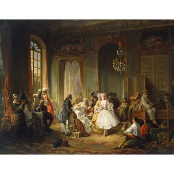 Actors Before a Performance. By Constant Wauters (Wouters)