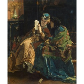 A Pleasant Letter. By Alfred Stevens