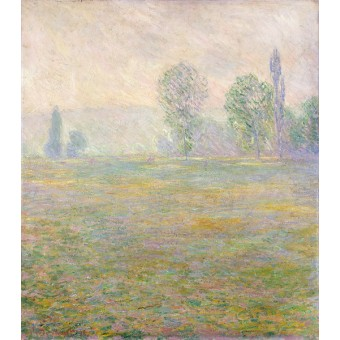Meadows at Giverny. By Claude Monet