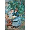In the Garden. By Pierre-Auguste Renoir