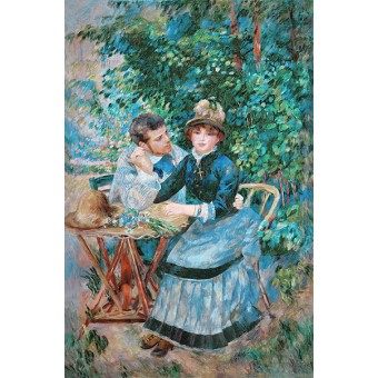 In the Garden. By Pierre-Auguste Renoir