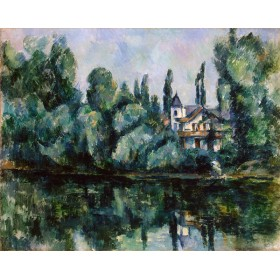 Banks of the Marne. By Paul Cezanne