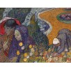Memory of the Garden at Etten (Ladies of Arles). By Vincent van Gogh