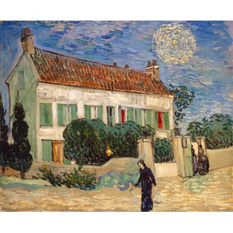 White House at Night. By Vincent van Gogh