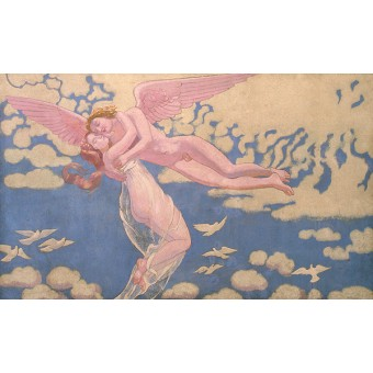 Cupid Carrying Psyche Up to Heaven. By Maurice Denis