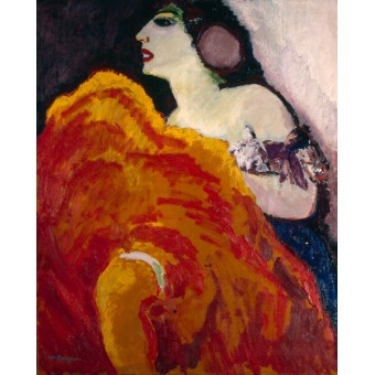 Red Dancer. By Kees van Dongen